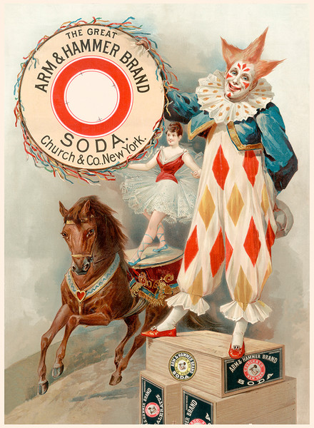 Arm and Hammer brand Soda