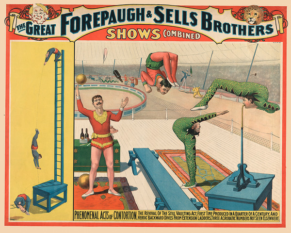 The Great Forepaugh and Sells Brothers Shows