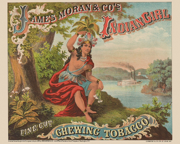 James Moran & Company's Indian Chewing Tobacco
