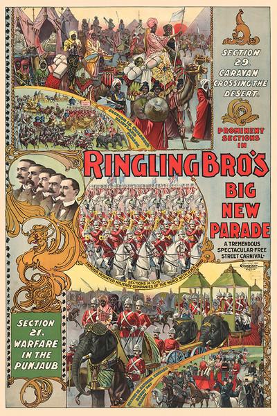Ringling Brother's Big New Parade