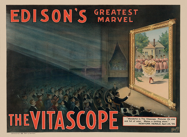 Edison Greatest Marvel – The Vitascope
