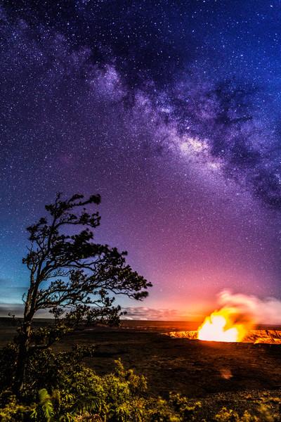 Hawaii Photography | Kilauea Galaxy by Leighton Lum