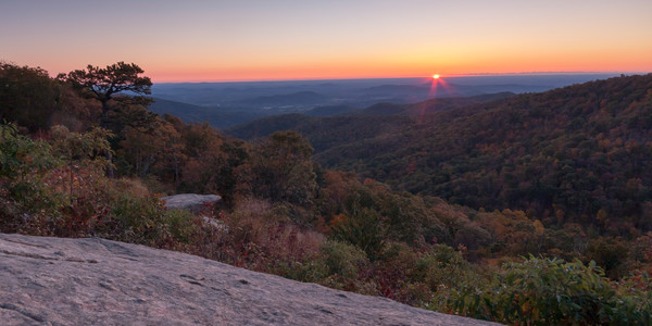 Mountain Wall Art: Shenandoah Sunrise
