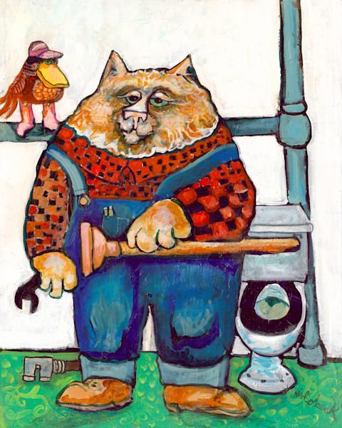 Plumber Cat