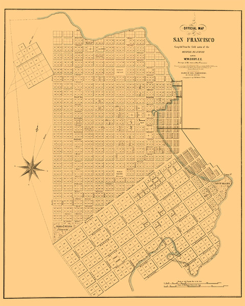 1949 Map of San Francisco