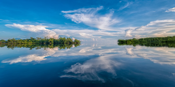 Reflected Sky - Mbaeroko Lagoon, Solomon Islands 2012