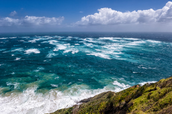 Convergence Zone - Cape Reinga, North Island, New Zealand