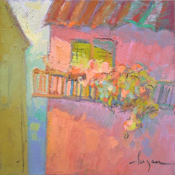 Village Rossa | Original Oil Painting by Dorothy Fagan