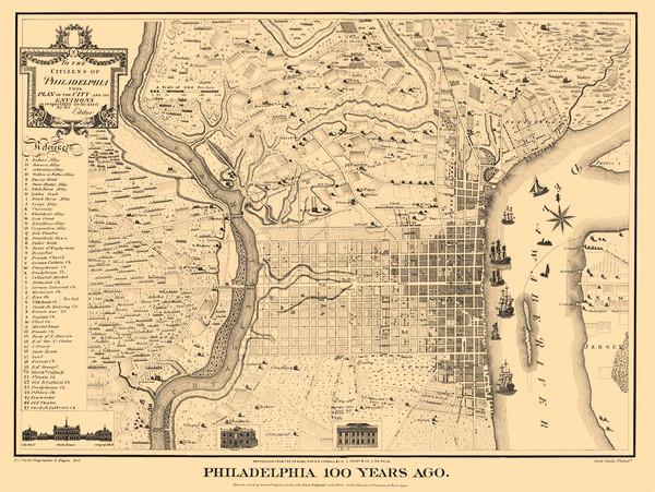 Philadelphia 100 Years Ago 1875