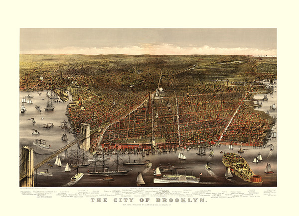 The City of Brooklyn 1879