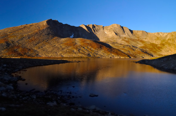 Mount Evans above Summit Lake - Arapaho National Forest