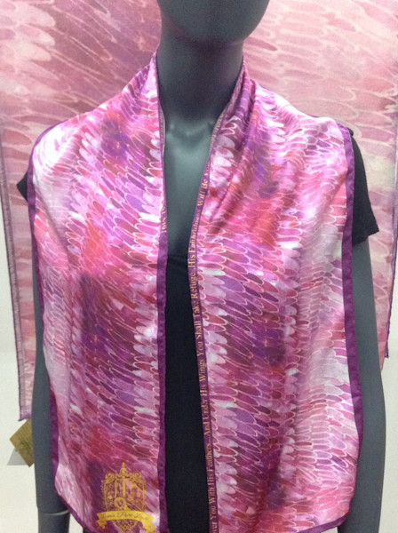 Silk Art Scarves at Prophetics Gallery