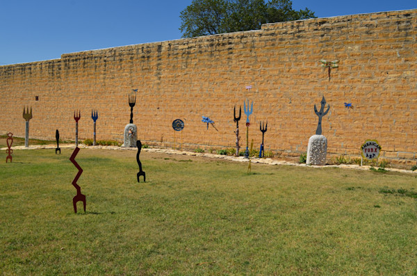 Fork Art--Lincoln, Kansas