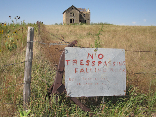 Old Farmstead in Western Kansas