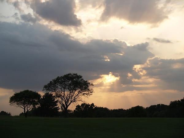 Sunset On the Golf Course--Salina, Kansas