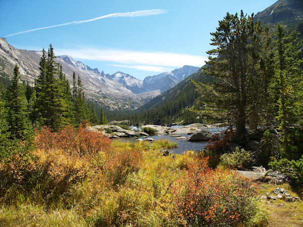 Mills Lake--Rocky Mountain National Park