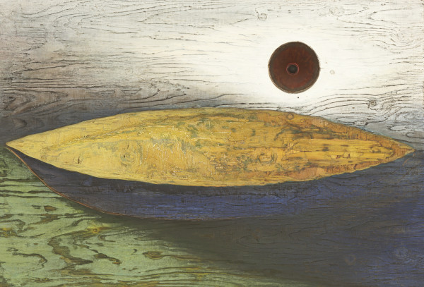 Vessel themed contemplative art and paintings by Mike Kline for sale