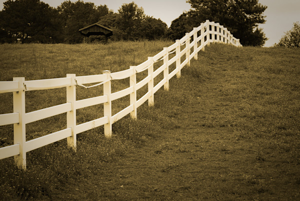Aged Fences 2 Landscape Photo Wall Art by Landscape Photographer Melissa Fague
