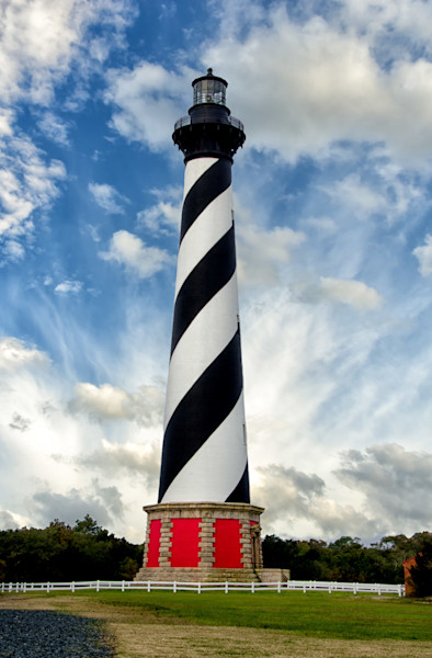 Cape Hatteras Lighthouse Landscape Photo Wall Art by Landscape Photographer Melissa Fague