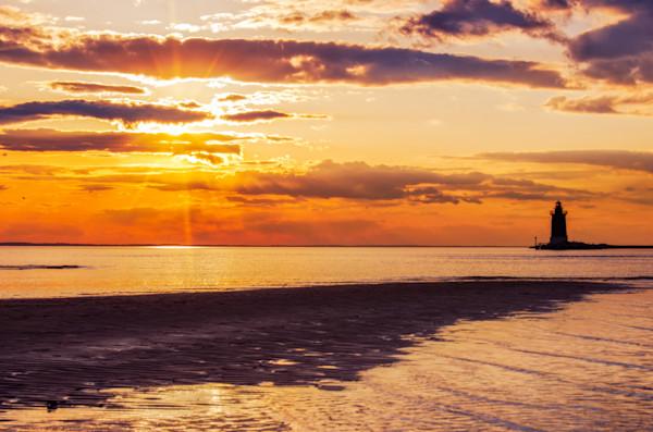 Cape Henlopen Sunset Landscape Photo Wall Art by Landscape Photographer Melissa Fague