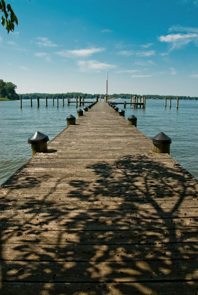 Endless Dock Landscape Photo Wall Art by Landscape Photographer Melissa Fague