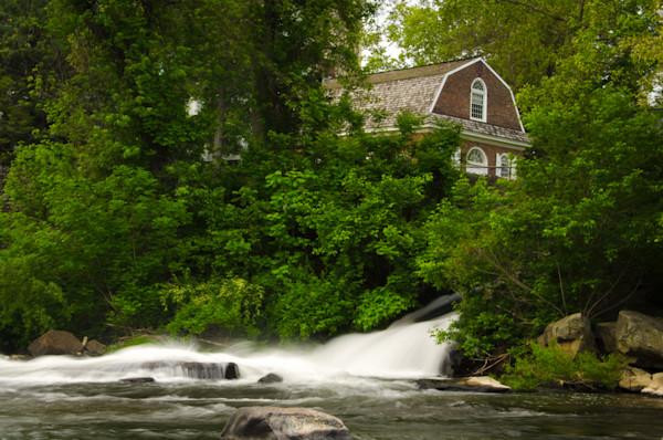 The Brandywine River and First Presbyterian Church Landscape Photo Wall Art by Landscape Photographer Melissa Fague