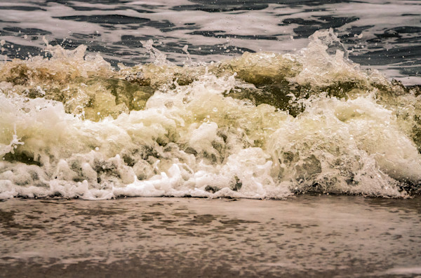 Crashing Ashore Nature Photo Wall Art by Nature Photographer Melissa Fague