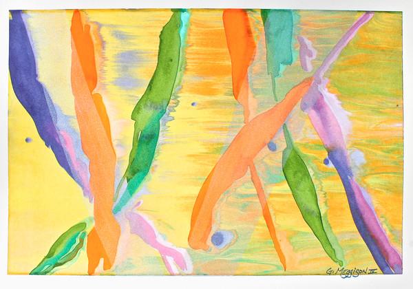 Confetti | Contemporary Abstract Watercolors | Gordon Meggison IV