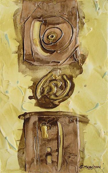 As Above So Below   Abstract Acrylic Mixed Media   Gordon Meggison IV