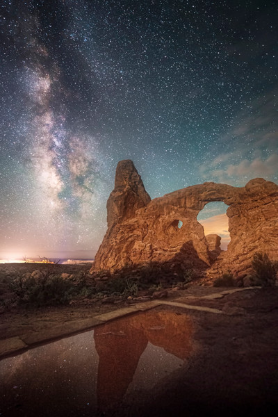 Turret Arch Reflection
