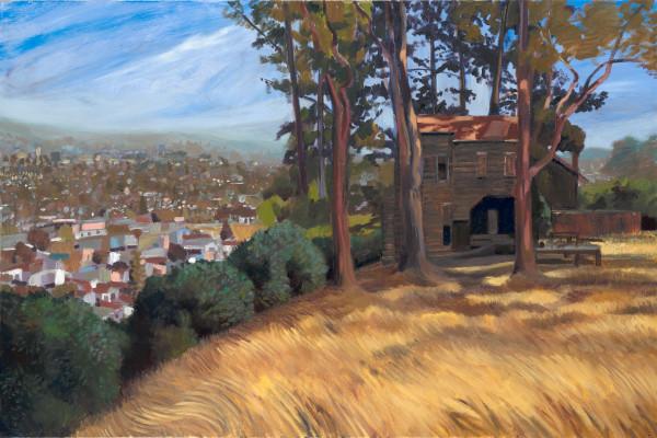 Albany, El Cerrito, art, landscape, painting