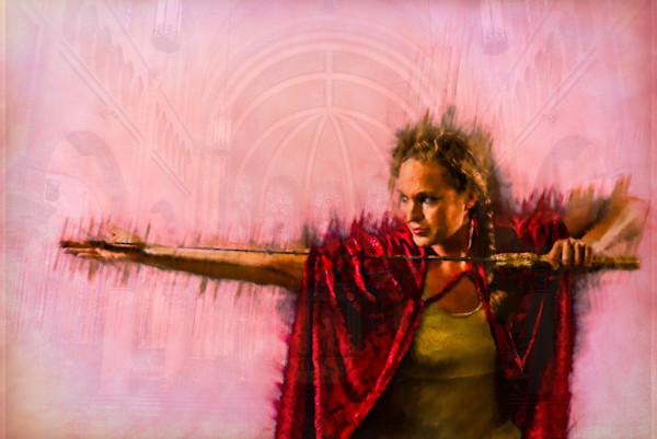 """Defender"" by Harold Vincent   Prophetics Gallery"