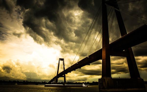 """""""Bridge To Light"""" by Harold Vincent   Prophetics Gallery"""