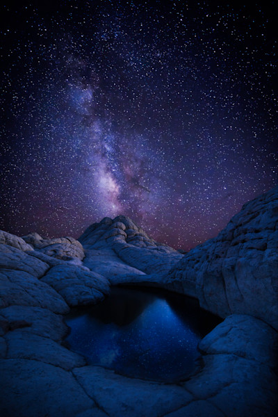White Pocket Milky Way