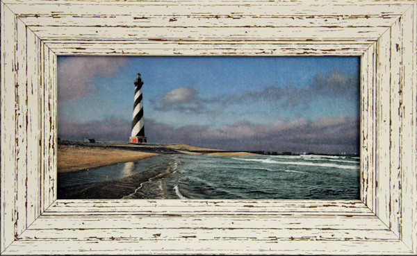 Hatteras Calm Enhanced Mini Canvas Transfer Art Print Framed for Sale