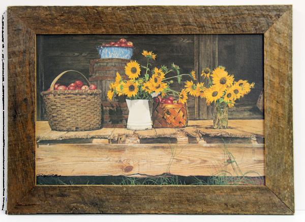 August Still-Life  Enhanced Canvas Transfer Art Print for Sale