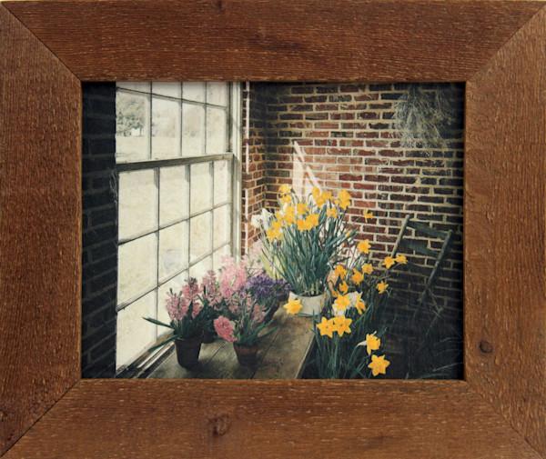 Flowerhouse Morning Enhanced Mini Canvas Transfer Art Print Framed for Sale