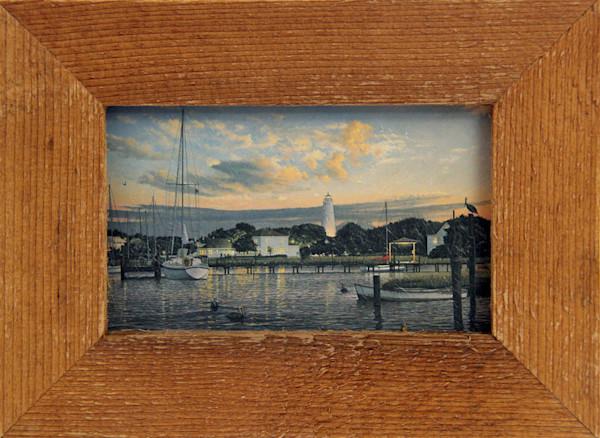 Ocracoke Memories Micro Mini Art Print Framed for Sale.