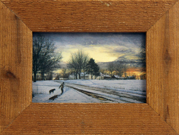 Going Home Micro Mini Print Framed for Sale