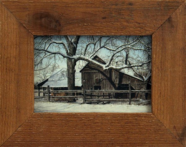 Lattimore's Wreath Micro Mini Print Framed for Sale
