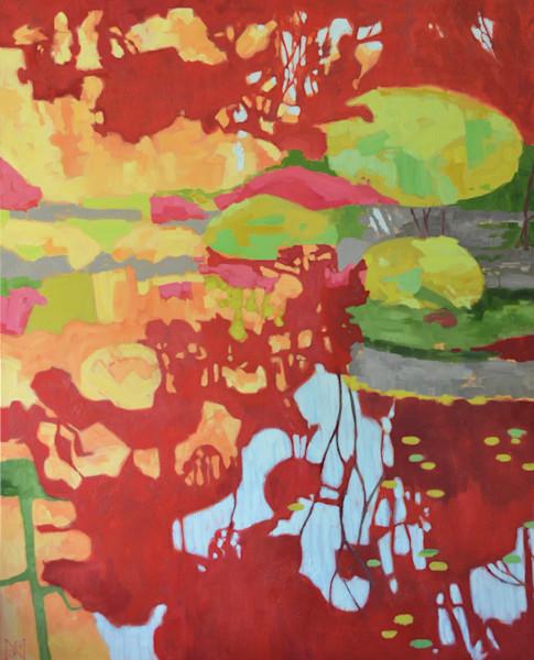 Japanese Garden II Art for Sale