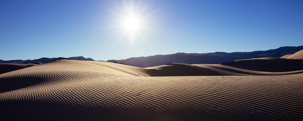 Eureka Dunes Afternoon