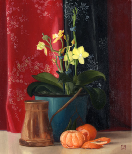 Still Life Art Prints:  Still Life Paintings in the traditional, realistic style by Natalie George, for sale as affordable art prints on canvas, paper and metal.