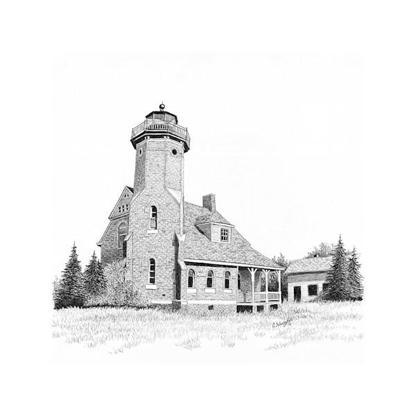 Squaw Island Light House