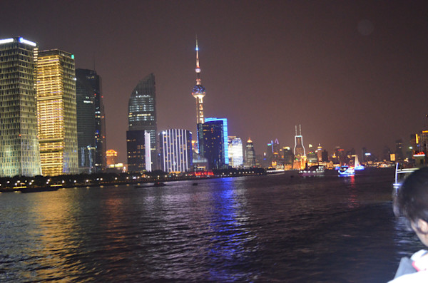 Night View in Shanghi, China
