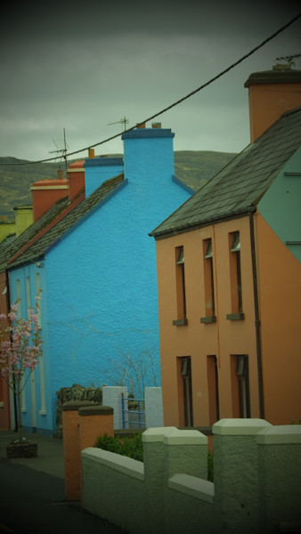 Colorful Building in Killarney, Ireland