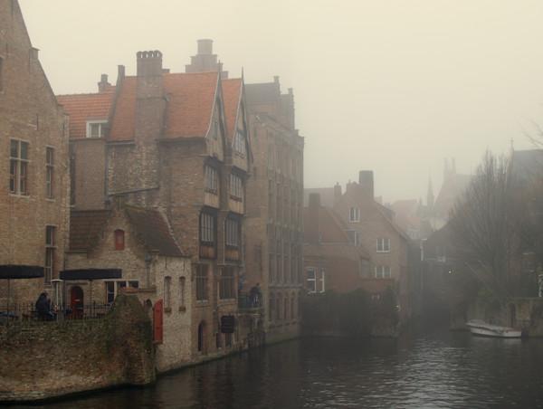 Belgium in the Fog