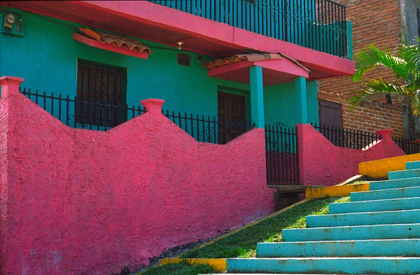 Colorful Home in Guatemala