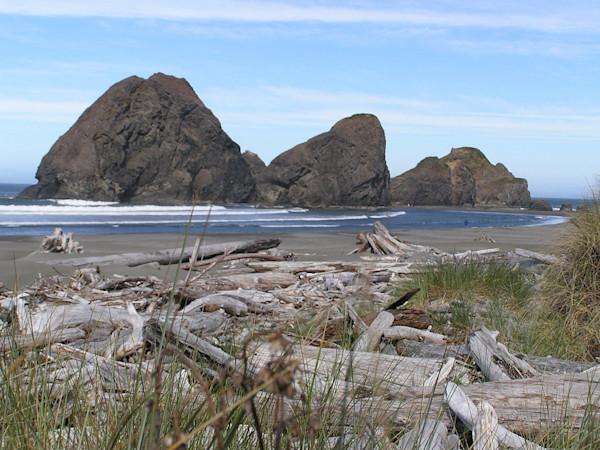 Oregon Coastline Beach