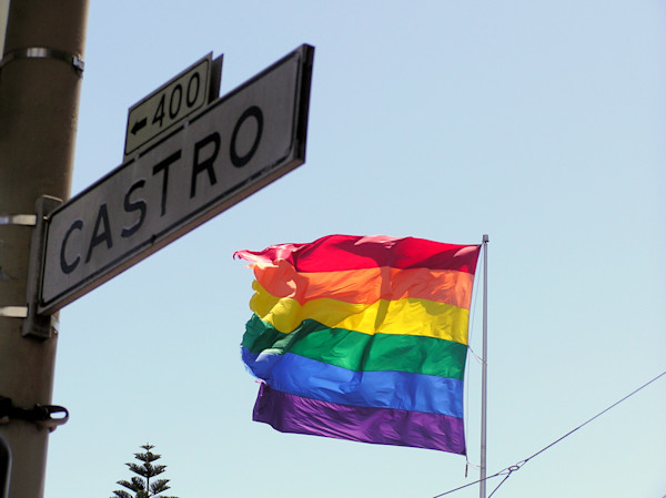Rainbow Flag at Castro--San Francisco